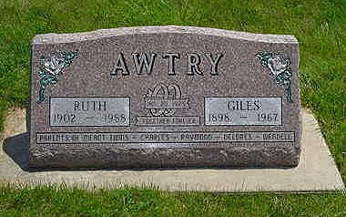 AWTRY, GILES - Jasper County, Iowa | GILES AWTRY