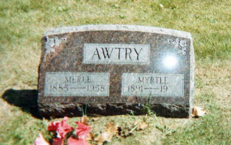 TROTTER AWTRY, MYRTLE - Jasper County, Iowa | MYRTLE TROTTER AWTRY