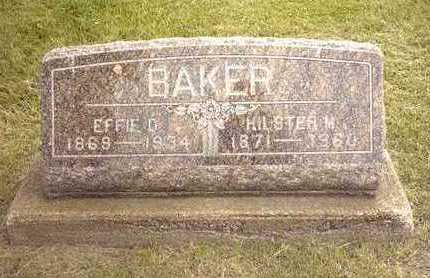 BAKER, EFFIE - Jasper County, Iowa | EFFIE BAKER