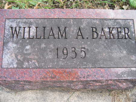 BAKER, WILLIAM A - Jasper County, Iowa | WILLIAM A BAKER