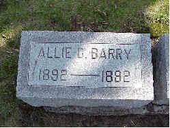 BARRY, ALLIE C. - Jasper County, Iowa | ALLIE C. BARRY