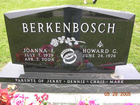 BERKENBOSCH, HOWARD GERALD - Jasper County, Iowa | HOWARD GERALD BERKENBOSCH