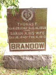 BRANDOW, THOMAS F. - Jasper County, Iowa | THOMAS F. BRANDOW