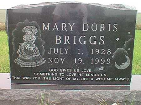 BRIGGS, MARY DORIS - Jasper County, Iowa | MARY DORIS BRIGGS