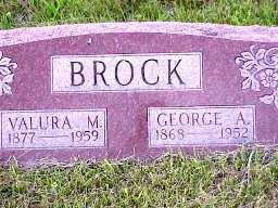 BROCK, GEORGE ADAM - Jasper County, Iowa | GEORGE ADAM BROCK
