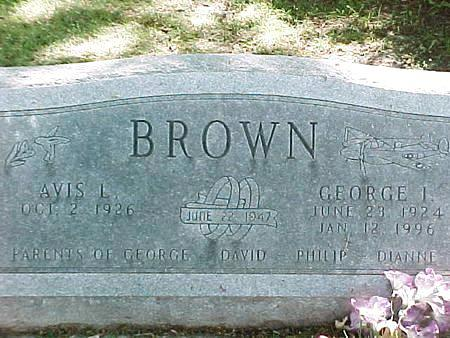 BROWN, AVIS L. - Jasper County, Iowa | AVIS L. BROWN