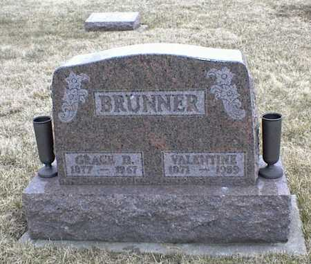 BRUNNER, GRACE D. - Jasper County, Iowa | GRACE D. BRUNNER