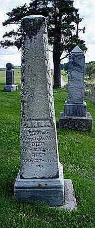 COLEMAN BUTIN, ANNA - Jasper County, Iowa | ANNA COLEMAN BUTIN