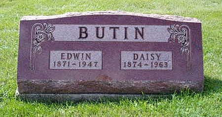 MATHER BUTIN, DAISY - Jasper County, Iowa | DAISY MATHER BUTIN