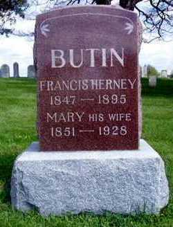 BUTIN, MARY - Jasper County, Iowa | MARY BUTIN