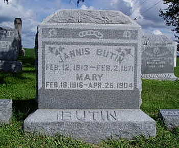 BUTIN, MARY A. - Jasper County, Iowa | MARY A. BUTIN