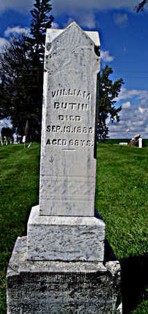 BUTIN, WILLIAM - Jasper County, Iowa | WILLIAM BUTIN