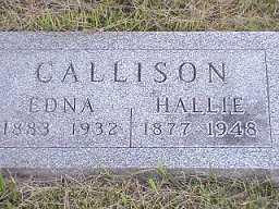 PHELPS CALLISON, EDNA - Jasper County, Iowa | EDNA PHELPS CALLISON