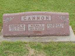 CANNON, WILMA - Jasper County, Iowa | WILMA CANNON