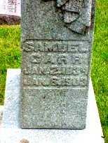 CARR, SAMUEL - Jasper County, Iowa | SAMUEL CARR