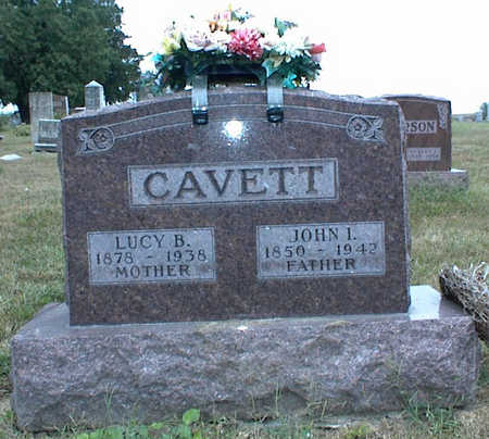 CAVETT, JOHN I. - Jasper County, Iowa | JOHN I. CAVETT