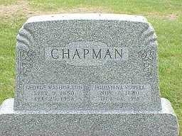 CHAPMAN, GEORGE WASHINGTON - Jasper County, Iowa | GEORGE WASHINGTON CHAPMAN