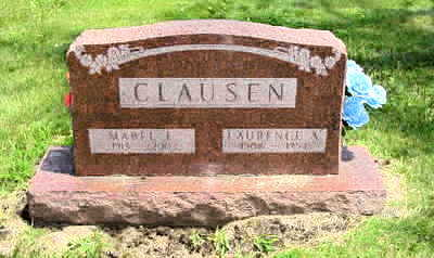 CLAUSEN, LAURENCE A. - Jasper County, Iowa | LAURENCE A. CLAUSEN