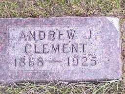 CLEMENT, ANDREW - Jasper County, Iowa | ANDREW CLEMENT