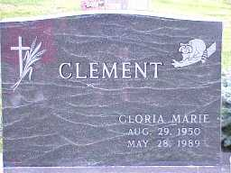 CLEMENT, GLORIA - Jasper County, Iowa | GLORIA CLEMENT