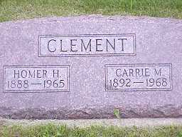 CLEMENT, HOMER H. - Jasper County, Iowa | HOMER H. CLEMENT