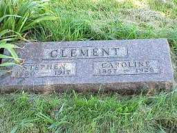CLEMENT, STEPHEN J. - Jasper County, Iowa | STEPHEN J. CLEMENT