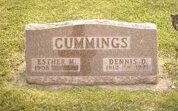 CUMMINGS, ESTHER M. - Jasper County, Iowa | ESTHER M. CUMMINGS