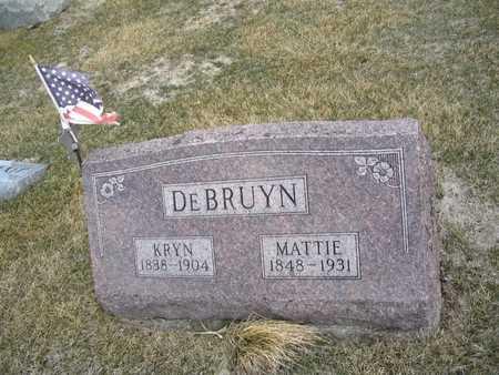 DEBRUYN, MATTIE - Jasper County, Iowa | MATTIE DEBRUYN