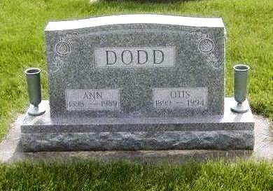 DODD, ANNA - Jasper County, Iowa | ANNA DODD