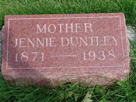 PORTER DUNTLEY, JEANETTE - Jasper County, Iowa | JEANETTE PORTER DUNTLEY