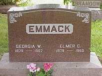 EMMACK, GEORGIA - Jasper County, Iowa | GEORGIA EMMACK
