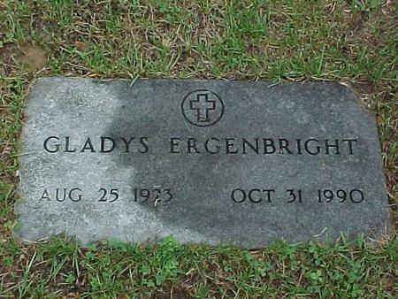 ERGENBRIGHT, GLADYS - Jasper County, Iowa | GLADYS ERGENBRIGHT