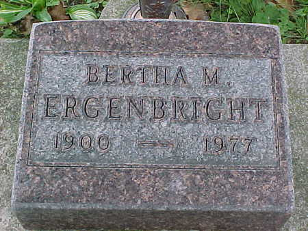 ERGENBRIGHT, MILDRED - Jasper County, Iowa | MILDRED ERGENBRIGHT
