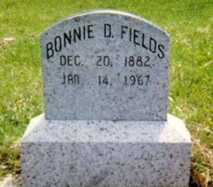FIELDS, BONNIE DARR - Jasper County, Iowa | BONNIE DARR FIELDS