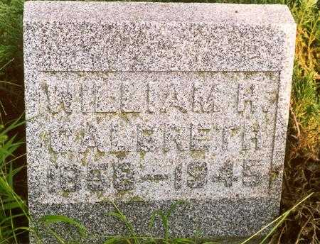 GALBRETH, WILLIAM H. - Jasper County, Iowa | WILLIAM H. GALBRETH