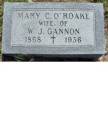 GANNON, MARY C. - Jasper County, Iowa | MARY C. GANNON