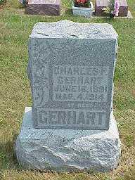 GERHART, CHARLES F. - Jasper County, Iowa | CHARLES F. GERHART