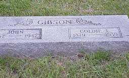 GIBSON, GOLDIE - Jasper County, Iowa | GOLDIE GIBSON