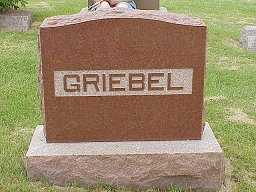 GRIEBEL, MONUMENT - Jasper County, Iowa | MONUMENT GRIEBEL