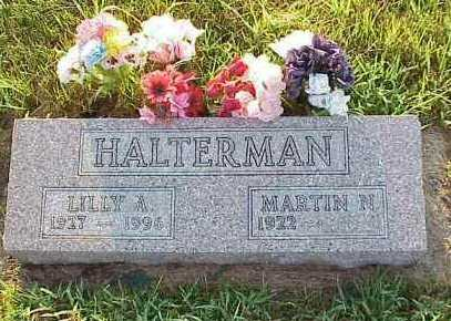 HALTERMAN, LILLY A. - Jasper County, Iowa | LILLY A. HALTERMAN
