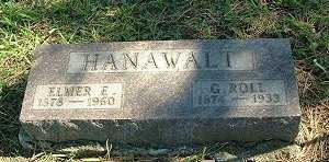 HANAWALT, G. ROLIE - Jasper County, Iowa | G. ROLIE HANAWALT
