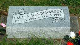 HARDENBROOK, PAUL A. - Jasper County, Iowa | PAUL A. HARDENBROOK