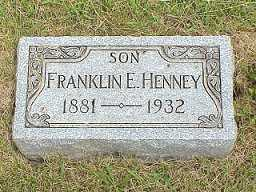 HENNEY, FRANKLIN - Jasper County, Iowa | FRANKLIN HENNEY