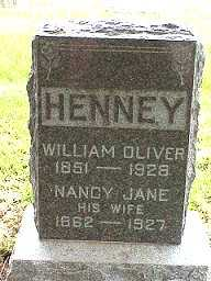 MILLER HENNEY, NANCY JANE - Jasper County, Iowa | NANCY JANE MILLER HENNEY