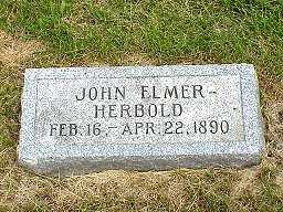 HERBOLD, JOHN ELMER - Jasper County, Iowa | JOHN ELMER HERBOLD