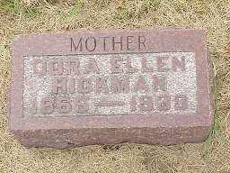 HICKMAN, DORA ELLEN - Jasper County, Iowa | DORA ELLEN HICKMAN