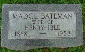 IBLE, MADGE - Jasper County, Iowa | MADGE IBLE