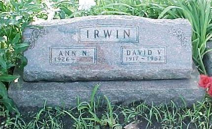 IRWIN, DAVID V. - Jasper County, Iowa | DAVID V. IRWIN
