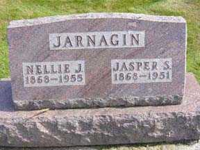 JARNAGIN, NELLIE J - Jasper County, Iowa | NELLIE J JARNAGIN