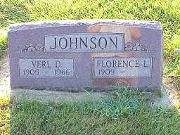 JOHNSON, FLORENCE L. - Jasper County, Iowa | FLORENCE L. JOHNSON